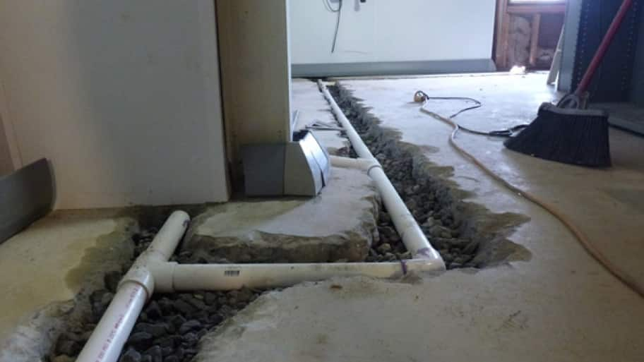 Carmel Indiana Basement Waterproofing System